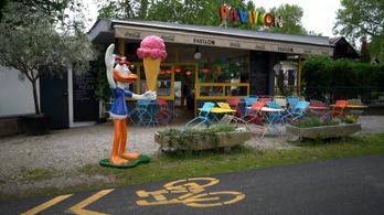 Retró környezetben várják az olasz ételek a boglári Pavilonban