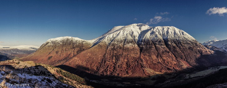 Az Egyesült Királyság legmagasabb hegycsúcsa, a Ben Nevis