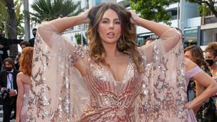 Vass Zita jócskán lemaradt a Cannes legkihívóbb ruhájáért folyó versenyben