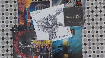 Hard rock novella - kádárkor és a  P. Box 1982-es koncertje vinylen