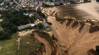 Több mint száz életet követeltek az áradások Németországban