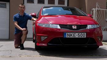 Erőmérő: Honda Civic Type R - 2008.