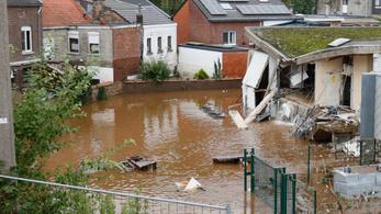 Belgiumban 23 áldozat, húszan eltűntek, tízezrek áram és ivóvíz nélkül
