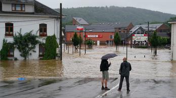 Luxemburgban 71 liter eső esett négyzetméterenként