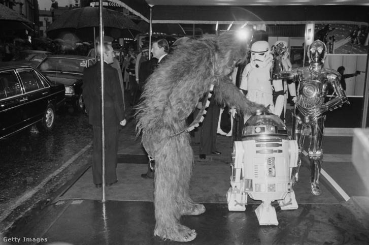 A Birodalom Visszavág bemutatója Londonban, az Odeon Leicester Squareben, 1980 május 20-án