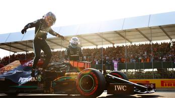 Hamilton nyerte a sprintfutam előtti időmérőt Silverstone-ban