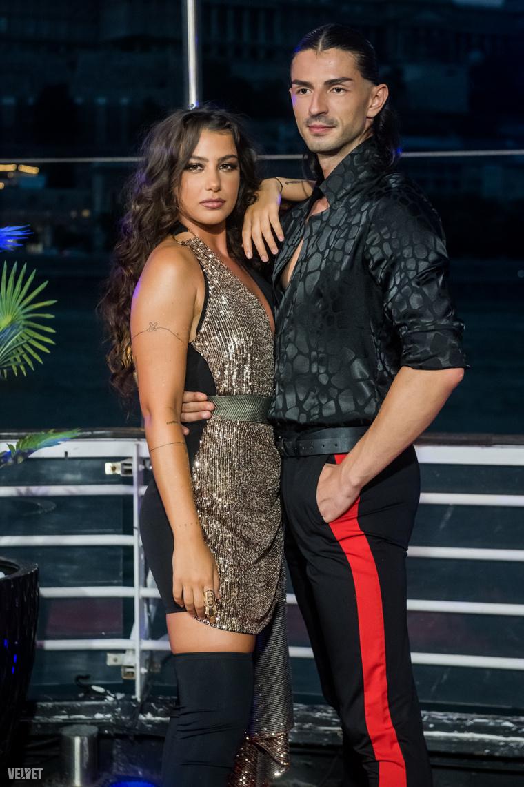 Tóth Andi és partnere, Andrei Mangra, Európa-bajnoki ezüst- és bronzérmes, valamint latin-showtánc finalista