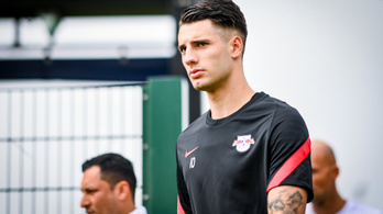 Szoboszlai Dominik végre bemutatkozott az RB Leipzigben