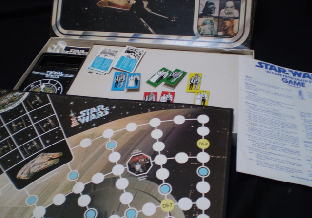 A Star Wars-univerzum hivatalos Halálcsillag-játéka 1977-ből: Escape from the Death Star