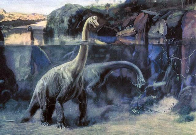 Zdeněk Burian Brachiosaurusa