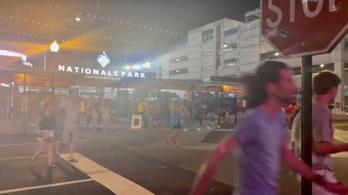 Lövöldözés tört ki a washingtoni baseballmeccs közben, három ember megsérült