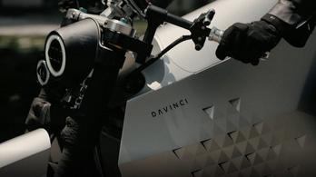 Futurisztikus furcsaság a Davinci első elektromos gépe