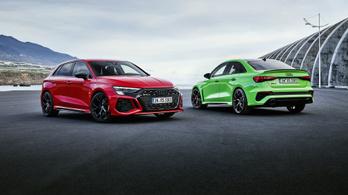 Varacskos öthengeressel és drift móddal itt az új Audi RS 3