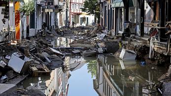 Javul az idő Németországban, 175 ember halt meg eddig az áradások miatt