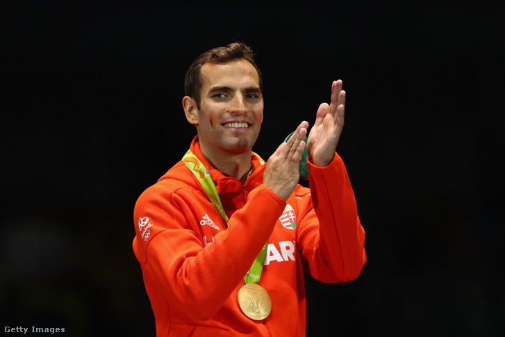 Szilágyi Áron Londonban és Rióban is olimpiai bajnok lett