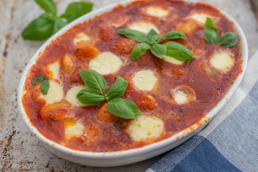 sütőben sült paradicsomos gnocchi recept