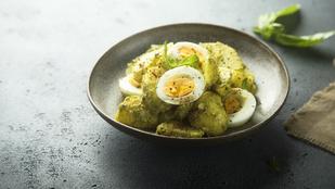 Pesto-burgonya saláta: tökéletes köret minden egyszerű húsféle mellé