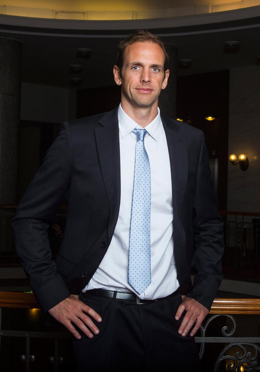 Kásás Tamás a Halhatatlan Magyar Sportolók Egyesületének rendezvénye után a budapesti Danubius Hotel Gellért szállodában 2015 májusában, amikor ő is tag lett.