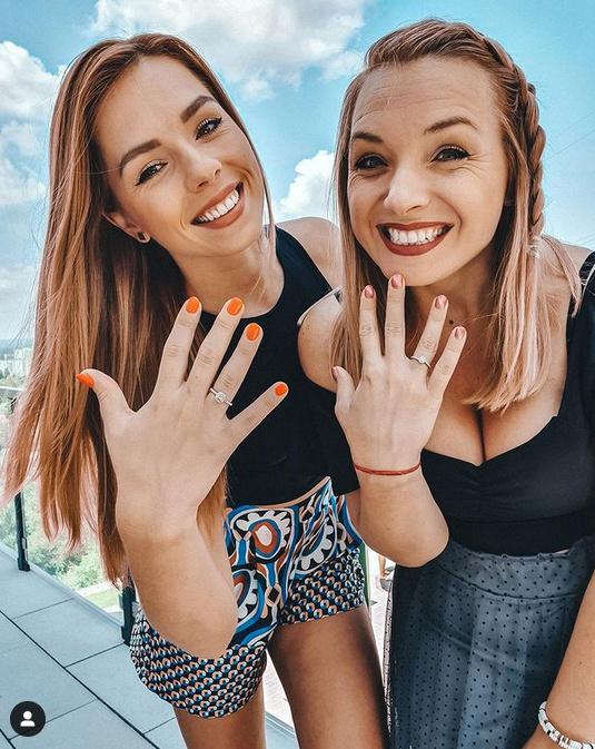 Gyuricza Dóri és a nővére rövid ideig egyszerre menyasszonyok - újságolta Rácz Jenő párja.