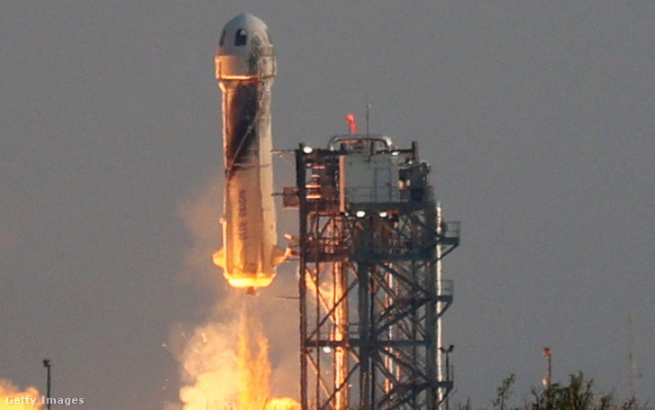 A New Shepard a tervezettnek megfelelően 15 órakor startolt a texasi New Hornból