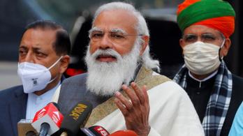 Kitört a botrány az indiai parlamentben a Pegasus miatt