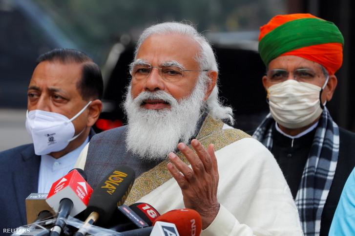 Narendra Modi miniszterelnök