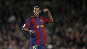Ronaldinho újra varázsolt, de a Real Madrid-legendák örülhettek