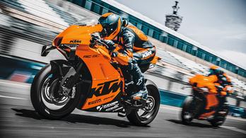 A Moto2-es versenymotorok szintjét hozza a KTM RC 8C
