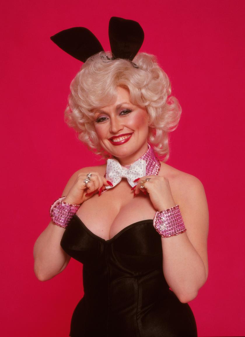 Így nézett ki 1978-ban a Playboy magazin eredeti fotózásán.