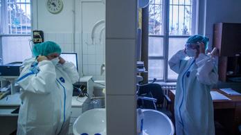 Csökken a kórházban ápolt koronavírusos betegek száma