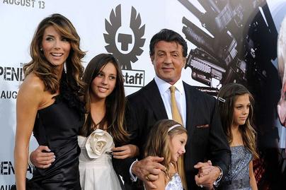 sylvester-stallone-családja