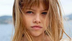Így néz ki most a világ egykori legszebb kislánya, Thylane Blondeau