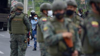 Börtönlázadás Ecuadorban, rengeteg a halott