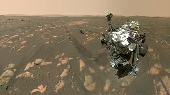 A NASA elkezdi a talajminták gyűjtését a Marson
