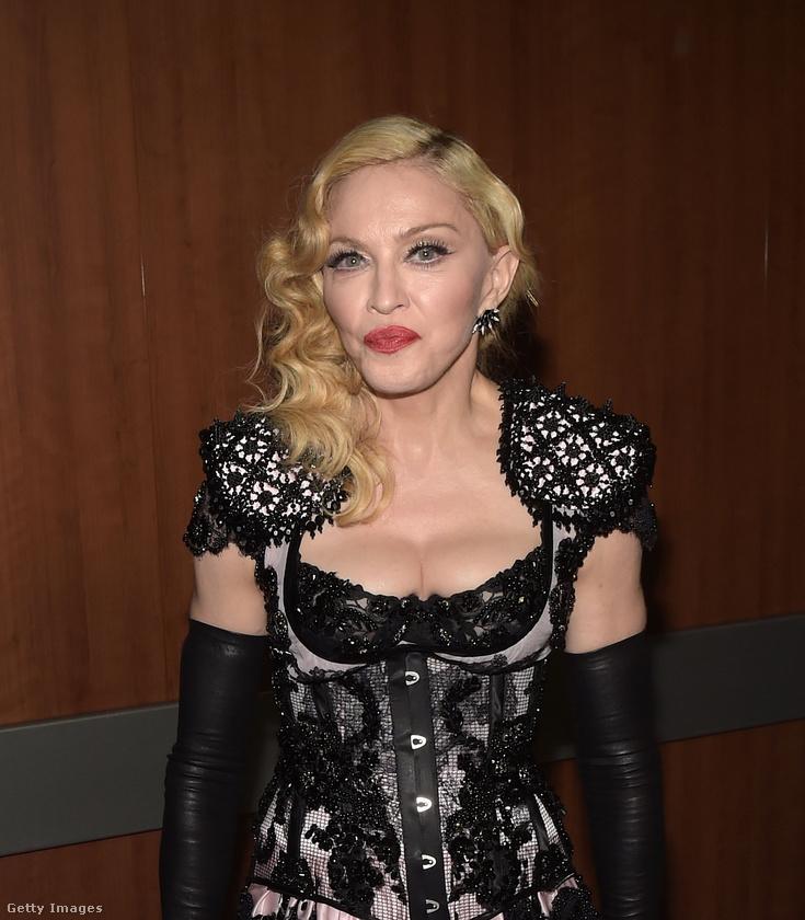 Nehéz lenne olyan embert találni a világon, aki ne tudná, ki Madonna