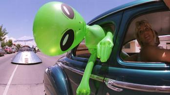 Az amerikaiak fele továbbra is hisz a földönkívüliekben
