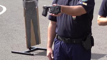 Sokkoló videó: bemutatta új fegyverét a rendőrség