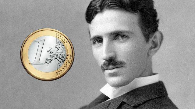 Nikola Tesla horvát euróérmékre kerül