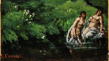 Szenzáció a Szépművészetiben: újabb Courbet-képet mutatnak meg