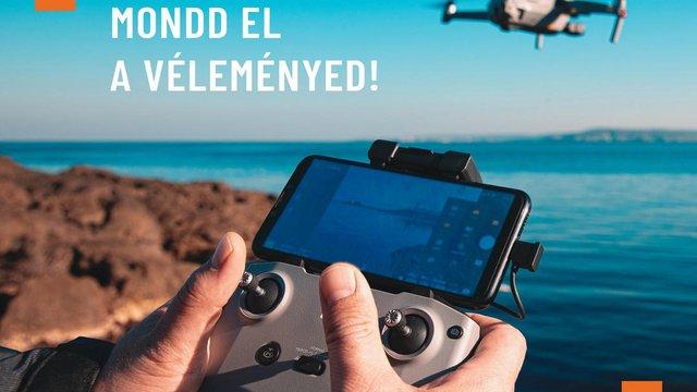 Mondjatok véleményt! Kérdőív a magyar drón szabályozásról