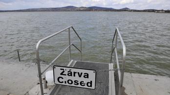 Soron kívüli vizsgálat indul a Velencei-tónál, négy strandot bezárnak