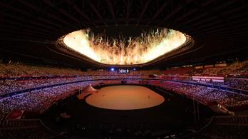 Négyórás nyitóünnepséggel kezdődött el a tokiói olimpia