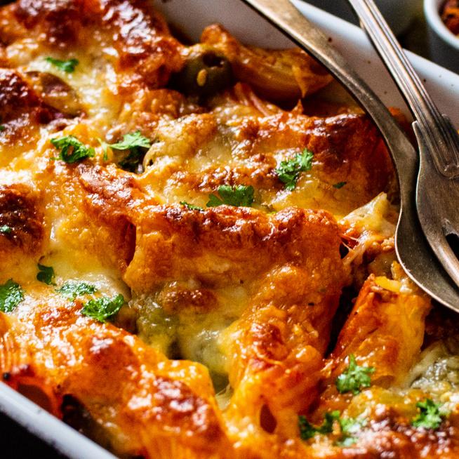 Krémes tészta csirkével és spenóttal sütve – Egyszerű és laktató vacsora