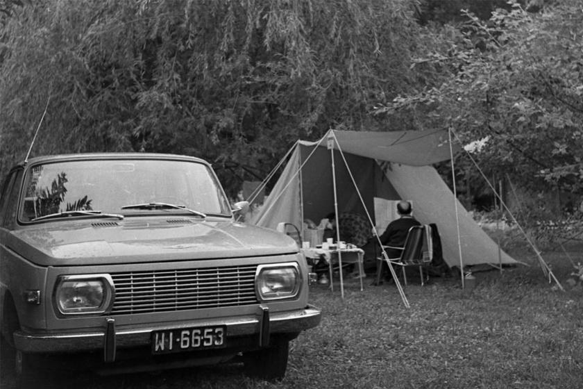 Wartburg, gumimatrac és NDK-sátor: a '70-'80-as évek kempingezésének elengedhetetlen kellékei