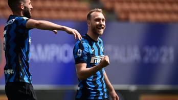 Defibrillátort kapott, Christian Eriksen nem térhet vissza a pályára az Interben