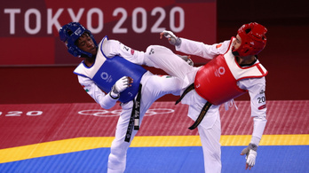 Az Európa-bajnok magyar tekvondós kikapott az olimpia nyitónapján