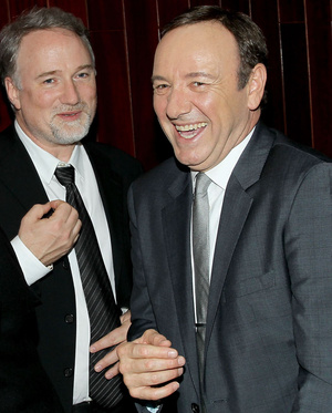 Kevin Spacey és David Fincher
