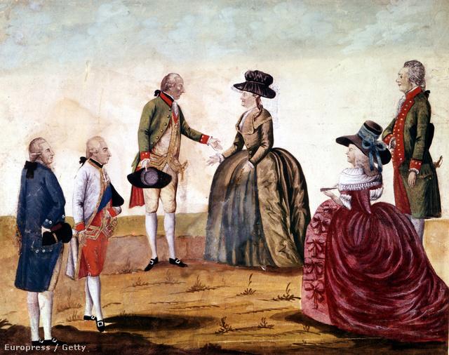 Katalin találkozója II. József Habsburg uralkodóval
