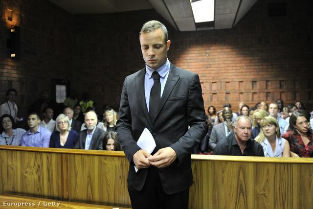 Oscar Pistorius február 20-án a bírósági meghallgatáson