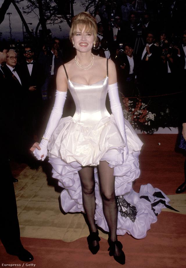Geena Davis 1992-ben megnyerte a legocsmányabb ruha díját
